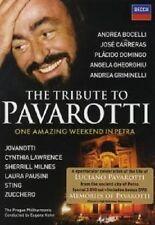 The TRIBUTE TO PAVAROTTI 2 DVD Domingo Bocelli e molto altro Nuovo