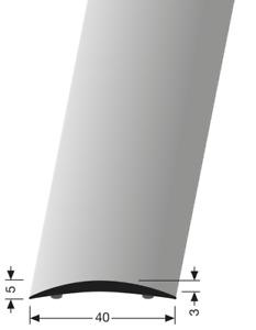 Übergangsprofil 462 Glatt Küberit für Laminat Parkett Vinylboden Teppich