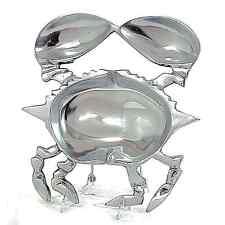 Trays - Coastal Crab Serving Tray - Aluminum