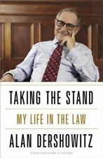 Taking the Stand : My Life in the Law by Alan Dershowitz (2013, Hardcover)SIGNED