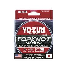 Yo-Zuri TopKnot MainLine Natural Clear 200 Yards Fluorocarbon Fishing Line
