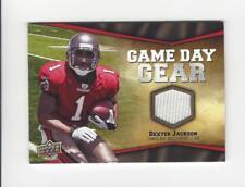 2009 Upper Deck Game Day Gear Dexter Jackson JERSEY Buccaneers