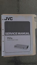 JVC t-v3 service manual original repair book stereo am fm tuner radio