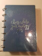 The Happy Planner Mini Undated Wellness 12 month Self Care