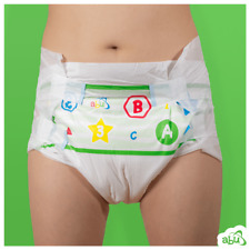 *2 Pc* Abu Pre School (Cloth-Backed) adult diaper baby nappy Sampler