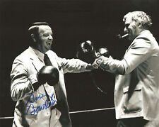 Bobby Bowden AUTOGRAPHED 8x10 SIGNED FSU FLORIDA STATE Boxing w/ Schnellenberger