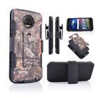 for Motorola Moto Z2 Force/ Z2Play/ XT1789 Hybrid Rugged Tough Holster Clip Case