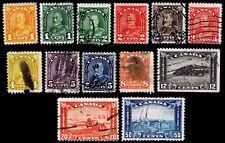 1930-31 CANADA #162-70, 172 & 174-76 - USED - FINE+ - CV$36.00 (ESP#2439)
