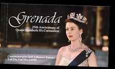 Grenada 1978 SG#SB2 Coronation 25th Anniv Stamp Booklet MNH #C37480
