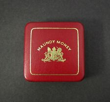 More details for 20th century royal mint undated hard case for 4 coin maundy set