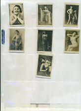 1926-27 N265-12 Cuban Trinidad & Hno Girls 7 different  EX