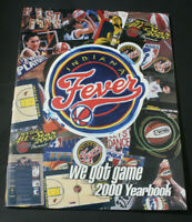Indiana Fever WNBA Basketball 2000 Yearbook Program EXCELLENT CONDITION