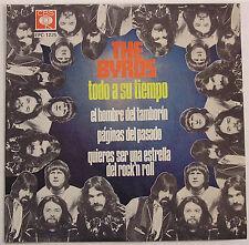 "The Byrds ""Todo A Su Tiempo"" (Turn, Turn, Turn) Beautiful 1973 Mexico 4-track EP"