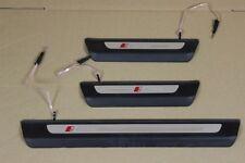 Audi Q7 4M s-line beleuchtet Einstiegsleiste Einstieg 4M0947417B 4M0947406B