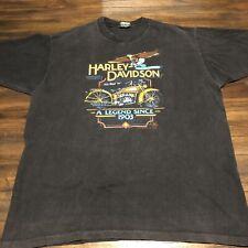 Vintage Harley Davidson Shirt Holoubek 1988 80s XL Legend