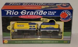 Lionel Battery Powered Thomas Train Pack Rio Grande  RARE NIB