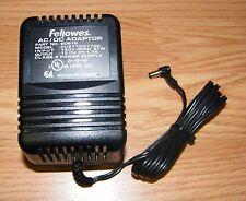 Fellowes (60619) 12V 1.7A 31W 60Hz Ac/Dc Adapter Power Supply (Du57120170C)