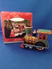 "Hallmark Keepsake ""Tin Locomotive 25th Anniversary Edition"" New in box"