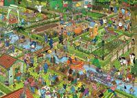 NEW! Jumbo The Vegetable Garden by Jan van Haasteren 1000 piece comic jigsaw
