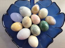 12 Marble/ Onyx Eggs, Fabulous Collection