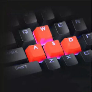 9PCS BACKLIGHT PBT KEYCAPS SOLID COLOR REPLACEMENT MECHANICAL KEYBOARD ACCESSORY