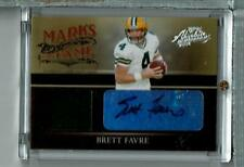 Brett Favre Auto Jersey 22/75 2006 Absolute Marks Of Fame , Packers