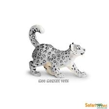 SNOW LEOPARD CUB baby Safari Ltd # 237629  Asian Wild Animal Replica  NWT