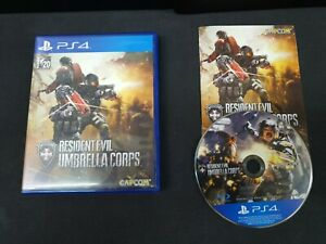 (ASIA ENGLISH VERSION) PS4 Resident Evil Umbrella Corps (Used Game)
