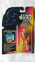 STAR WARS LUKE SKYWALKER FIGURE X WING PILOT KENNER SHORT LIGHT SABRE 1996 RED T