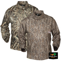 NEW BANDED GEAR TEC FLEECE MOCK TURTLENECK CAMO NECK SHIRT B1030007