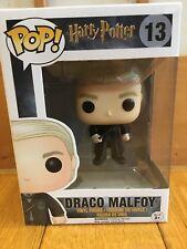 Funko Pop Movie Harry Potter Draco Malfoy  #13 Vinyl Figure New Japan