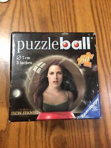 "NEW Twilight: Used ""Twilight New Moon""60 Piece 3D-Puzzleball Ravensburger"