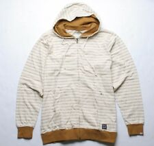 Matix Checker Stripe Hood Fleece (L) Golden Brown