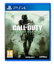 Call of Duty Modern Warfare Remastered PS4 COD Brand New Factory Sealed