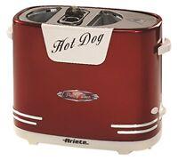Máquina de Perritos Calientes Ranura para Pan y Salchichas American Retro NEW
