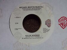 "MICHAEL MARTIN MURPHEY Rollin' Nowhere/Face-To-Face With The Night 7"" 45 country"