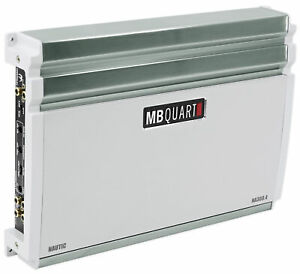 MB QUART NA360.4 360 Watt RMS Nautic Series 4-Channel Marine Boat Amplifier Amp