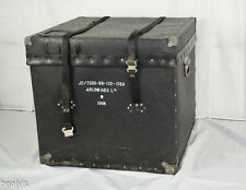 British Army - Military - 1996 ArunFabs Leather Transport Storage Case Box