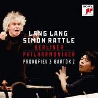 SIMON LANG LANG/BERLINER PHILHARMONIKER/RATTLE - KLAVIERKONZERT 3/...2  CD NEU