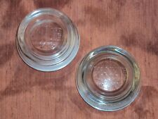 'YANKEE CANDLE'~ Set of 2 REPLACEMENT LIDS-->Large Jar(Candle) KeepWaxCleaner!!