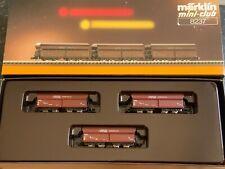 "Marklin spur z scale/gauge. ""RAG"" Coal Hopper Set."