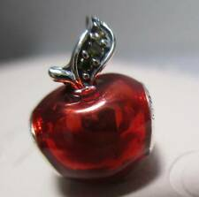 New Authentic PANDORA Disney Charm Snow White's Red Apple 791572EN73