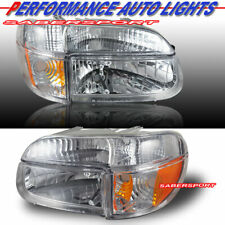 Set of Euro Clear Headlights w/ Corner Lights for 1995-2001 Ford Explorer