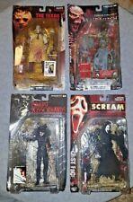 McFarlane Movie Maniacs Horror Figure Lot  of 4 Figures!