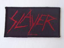 SLAYER LOGO WOVEN PATCH