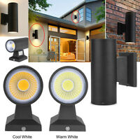 6W Up Down 2/Dual Head COB LED Wall Mount Light Sconce Lamp Outdoor Waterproof