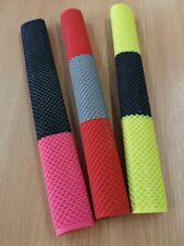 HALF MOON SNAKE SKIN GRAY-NICOLLS CRICKET BAT GRIPS - PINK BLACK YELLOW RED