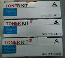 * 3x OKI NL-OK C610 Compatible Cyan Toner for OKI printer C610N C610DN 59:12