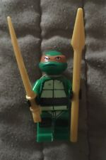 MICHELANGELO TMNT Minifig Teenage Mutant Ninja Turtles Custom GreenFig Jet