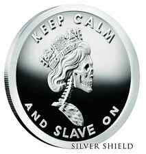 2016 1oz - SILVER SHIELD - SLAVE QUEEN #4 of 6- NEW V2 RELEASE - PROOF W/COA